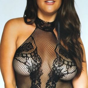 Plus size net my affection teddy